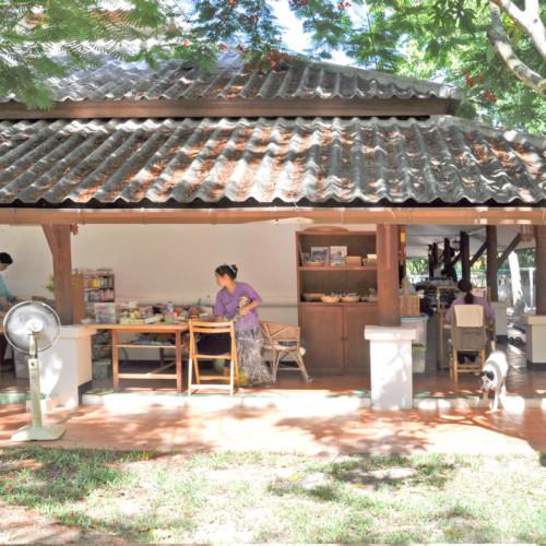 チェンマイの工房・縫製場
